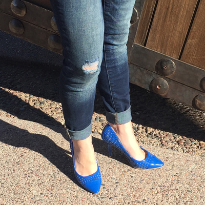 Make your Pop of Color be your Shoes