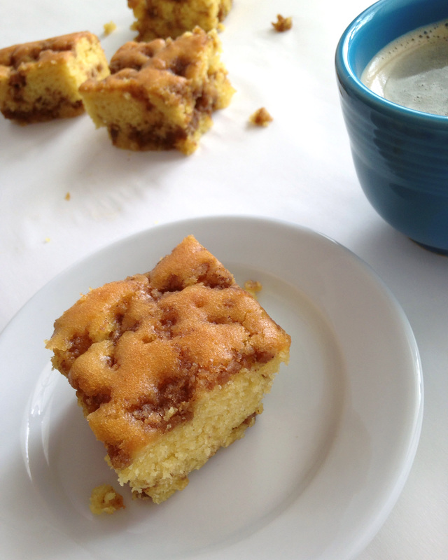 Graham Cracker Streusel Coffee Cake