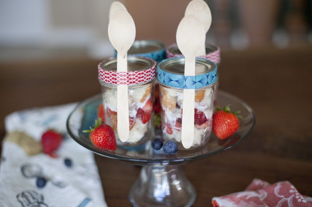 Angel Food Cake Mini Trifles