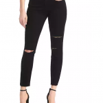 Gap - Mid rise Destructed True Skinny Ankle Jean
