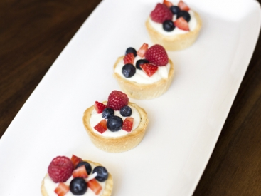 Mini Citrus Fruit Tarts