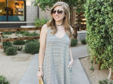 A Striped Summer Dress