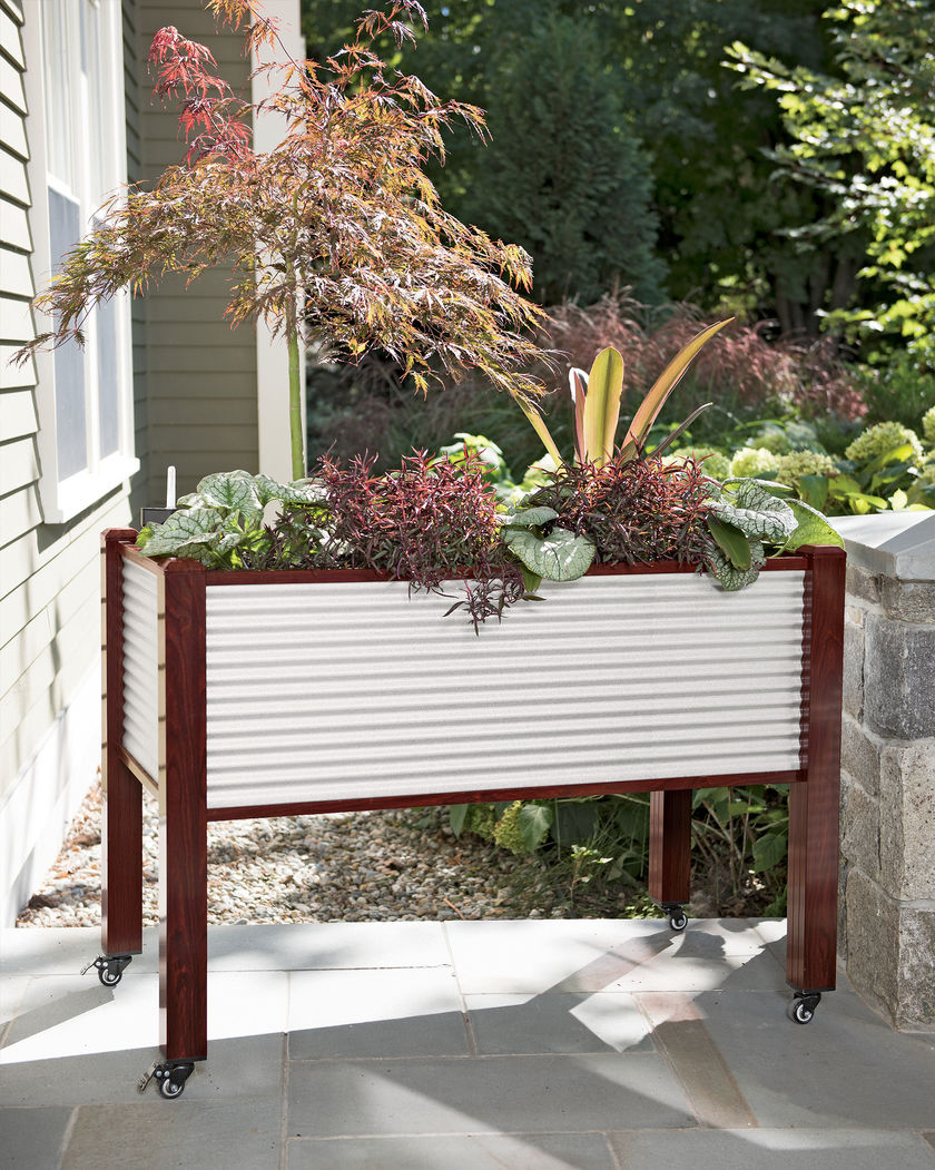 Galvanized Elevated Raised Planter Bed