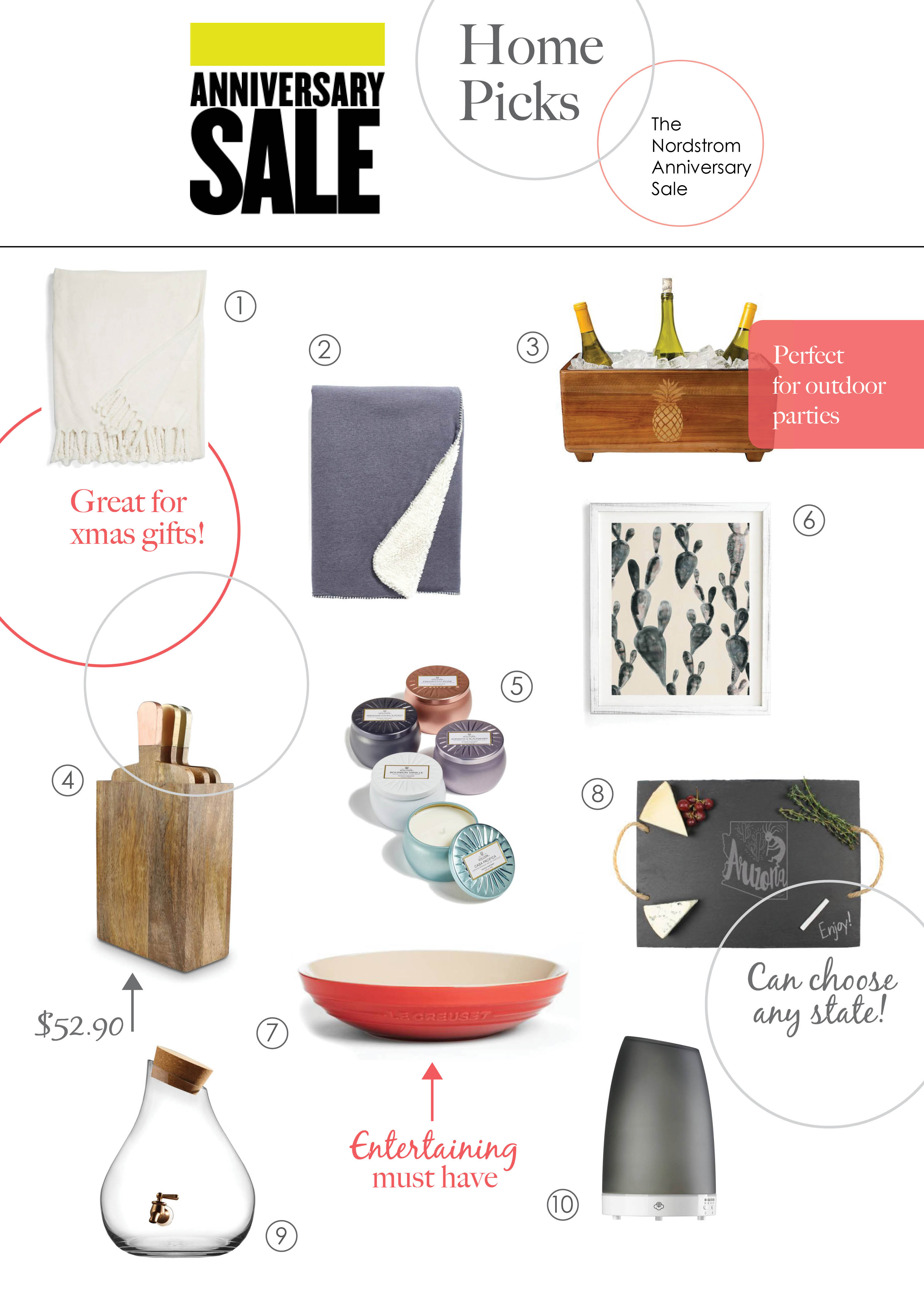 Nordstrom Anniversary Sale - Home Picks