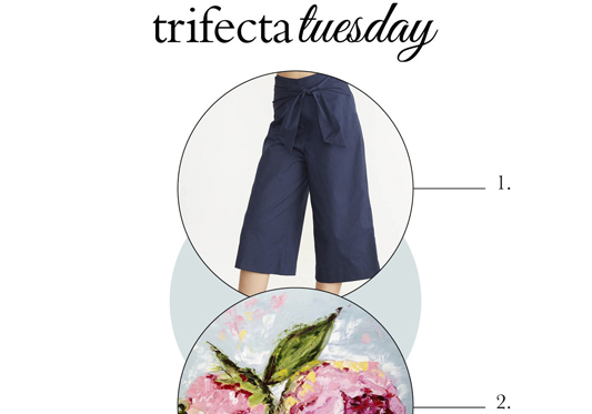 Trifecta Tuesday – Fashion, Design and Baking