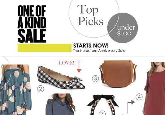 Nordstrom Anniversary Sale – Early Access Top Picks – Under $100