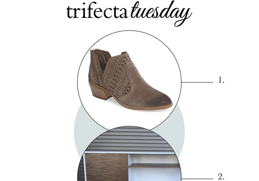 Trifecta Tuesday  |  Top Weekly Picks for Fashion, Design & Baking