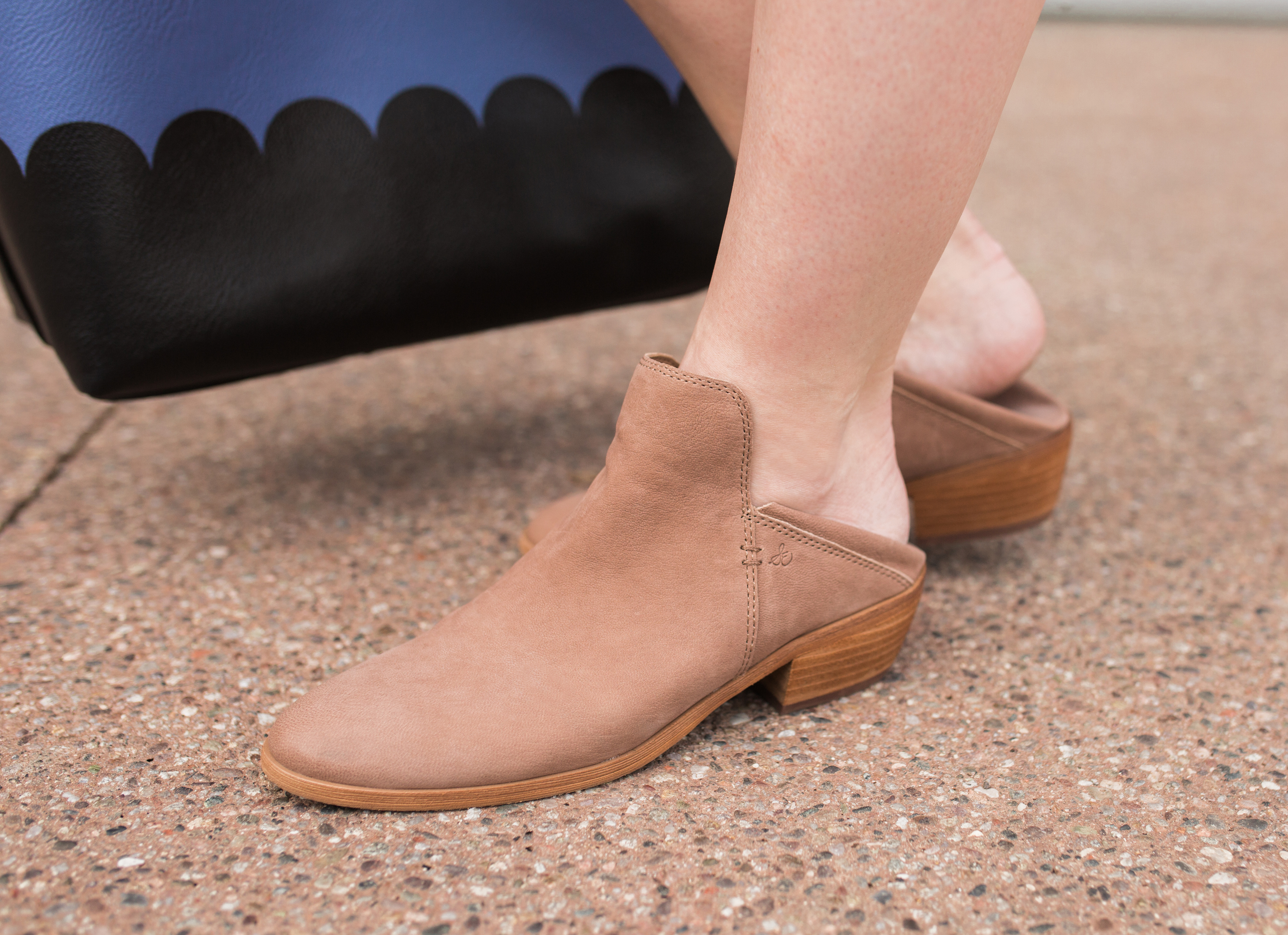 Neutral Sam Edelman Mule Booties