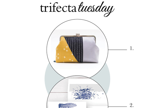 Trifecta Tuesday  |  Top Picks for Fashion, Design & Baking