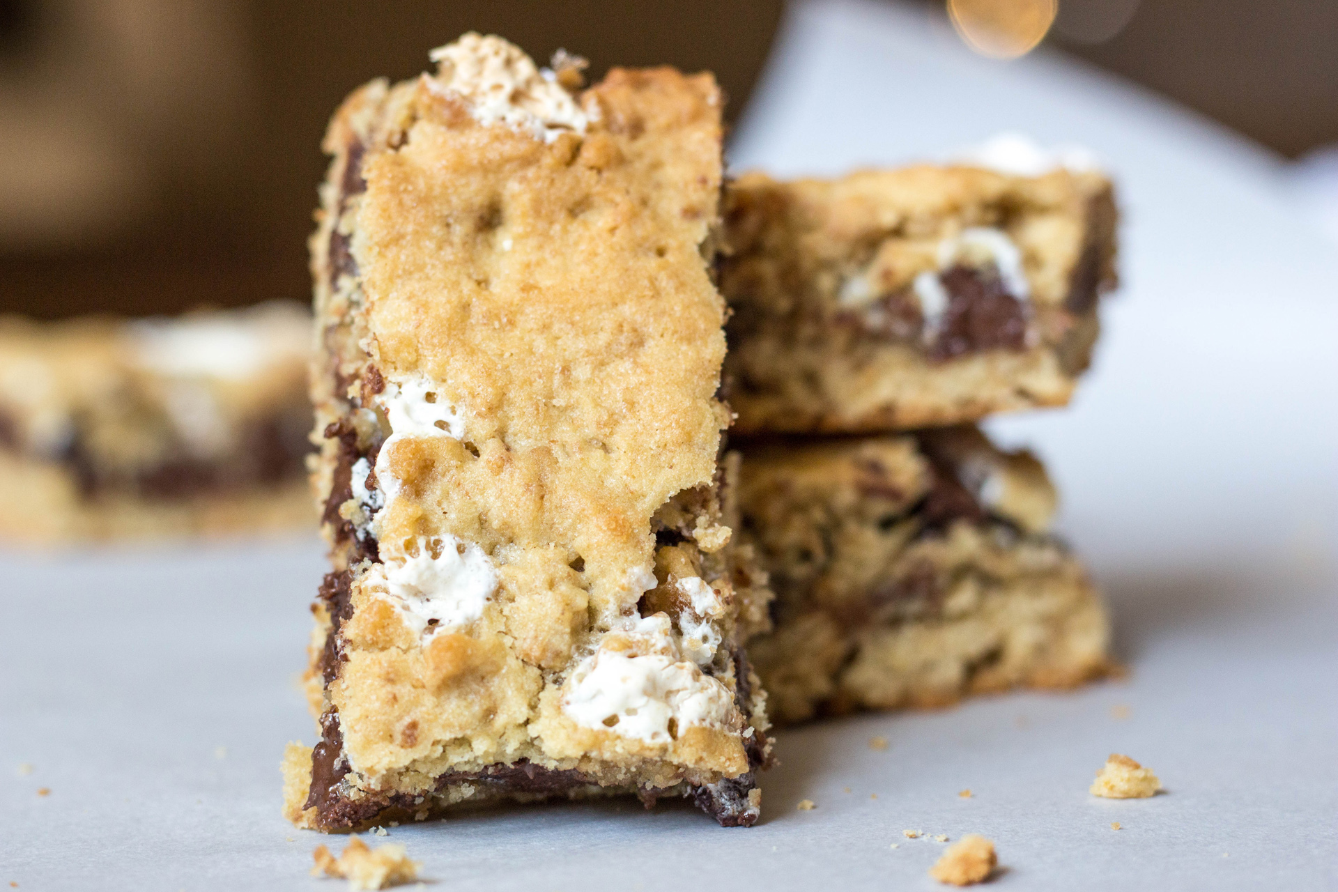 S'mores Cookie Bar Recipe