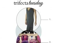 Trifecta Tuesday - Green jumpsuit, glassware