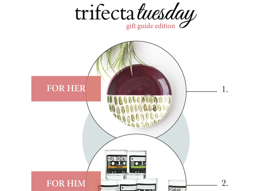 Trifecta Tuesday | Gift Guide Edition vol.3