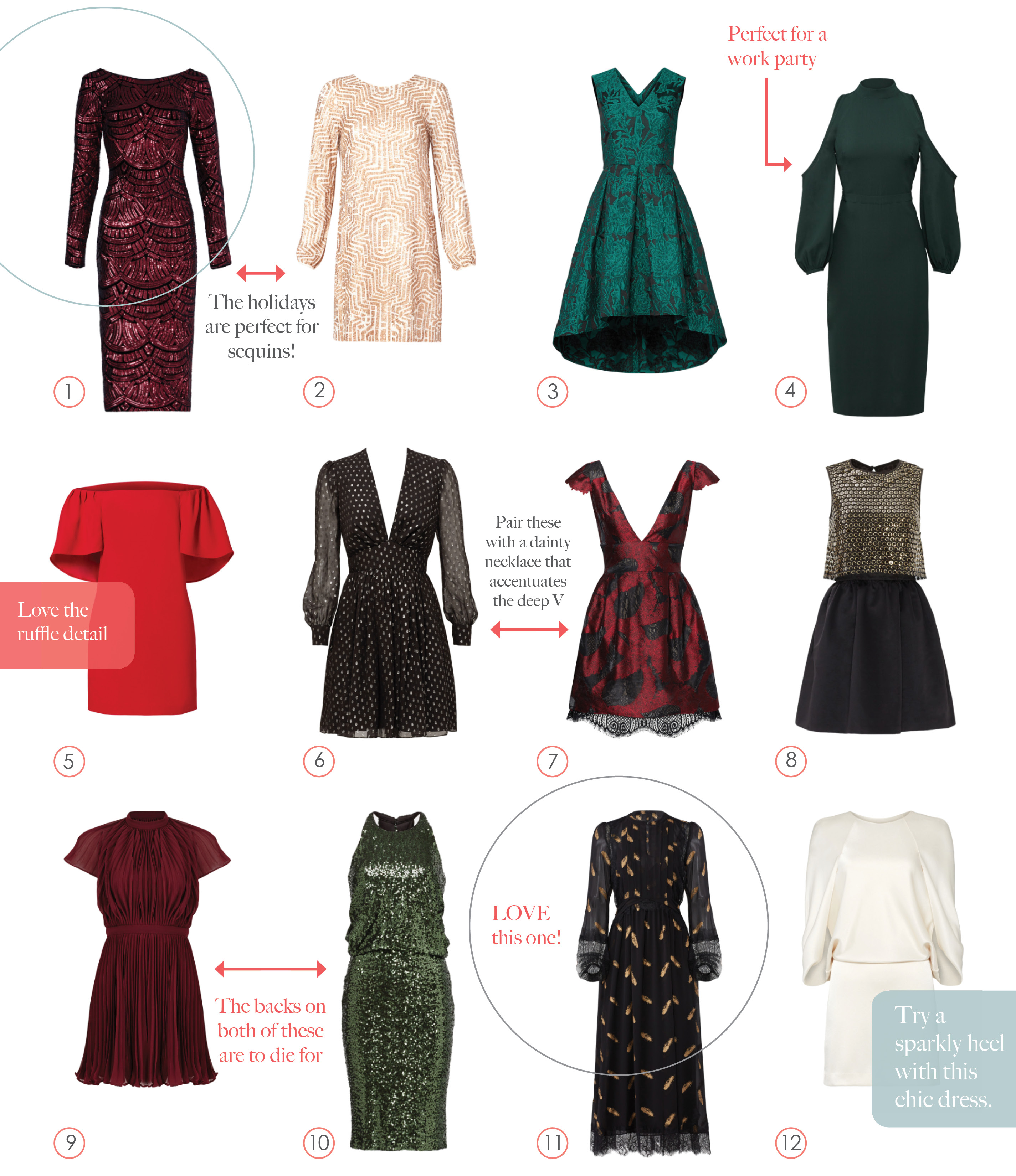 Rent the Runway - Holiday Party Dresses