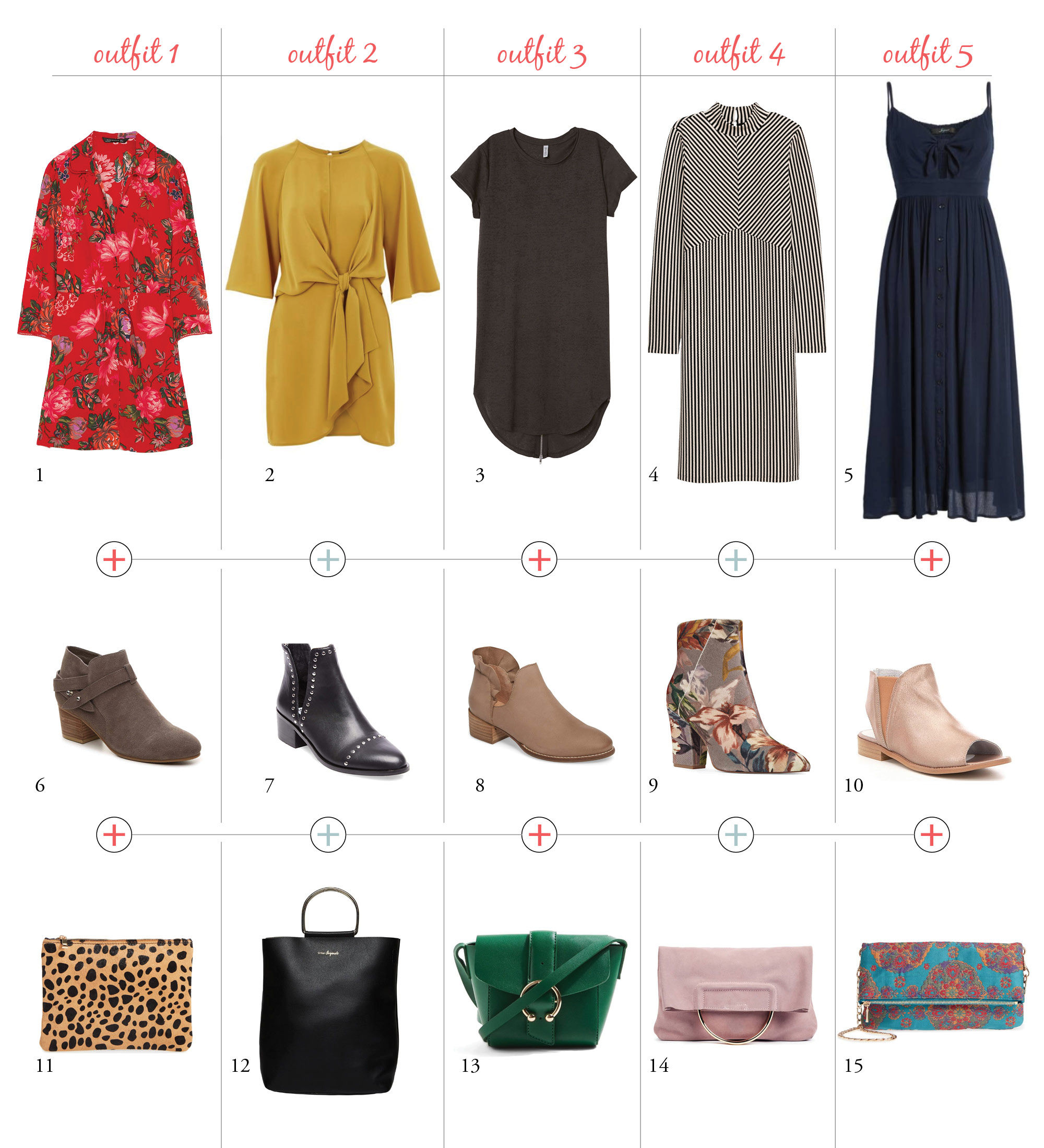 Dresses and Booties