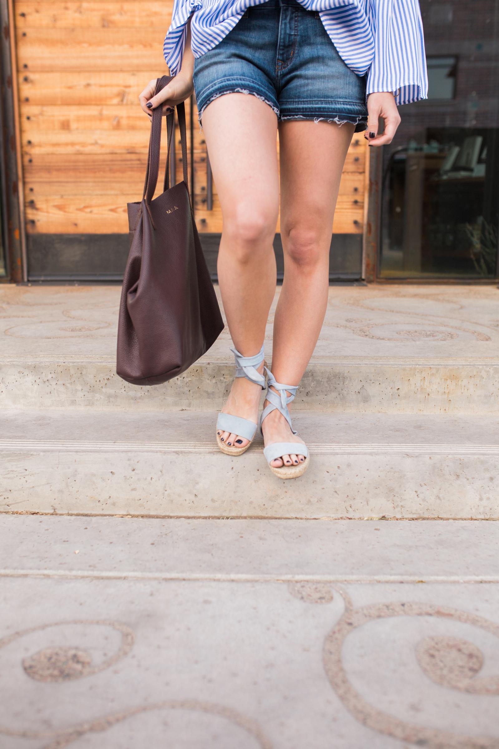 Splendid Jody Ankle tie sandals