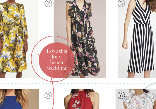Springtime Weddings – Non-Formal Dress Picks