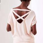 Loft Criss Cross Back Dolman Sweater