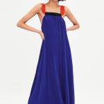 Zara pleated dress with straps