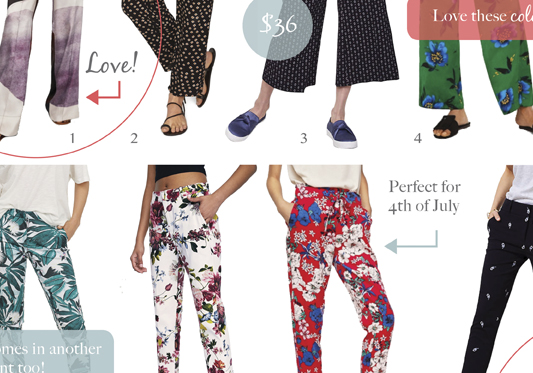 Printed Pants - Top Picks for Summer