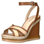 Nine West Vaughn Leather Wedge Sandal