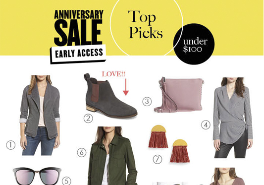 Nordstrom Sale – Early Access 2018