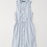 Abercrombie sleeveless shirtdress
