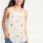 Old Navy lightweight printed swing cami