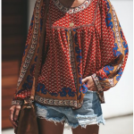 Vici - Living In Harmony Boho Blouse