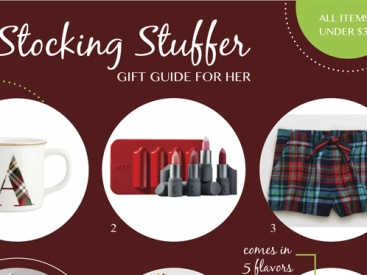Stocking Stuffer Ideas for Her - All Under $30!
