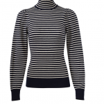 La Vie Rebecca Taylor Striped Sweater