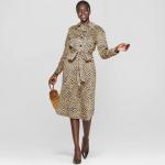 Target - Leopard print dress